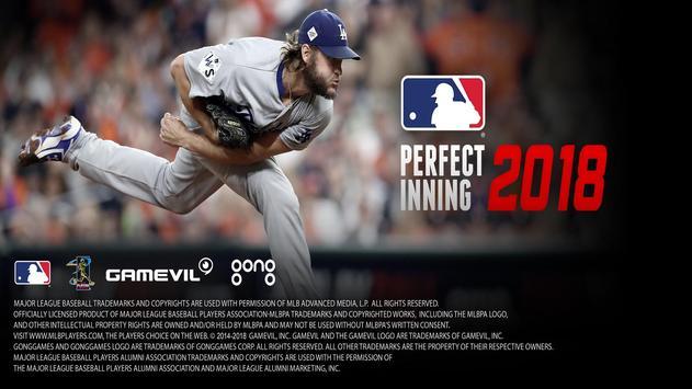 MLB Perfect Inning 2018 海報