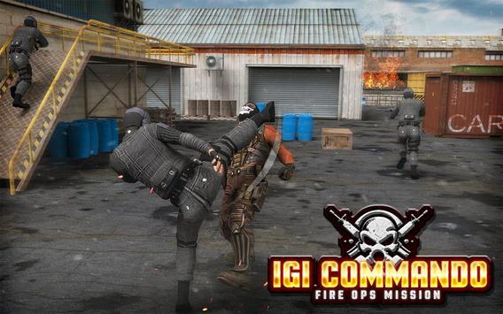 IGI Commando Fire Ops Mission poster