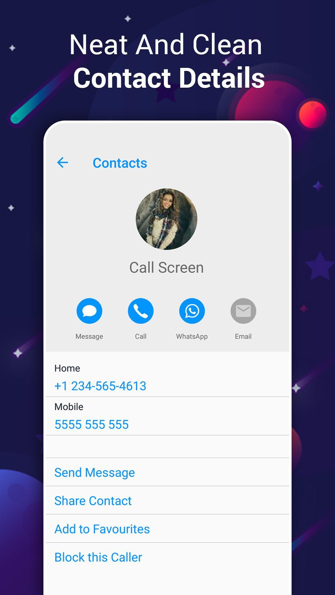 Color Caller Screen Light i Call Phone X App OS 12 for