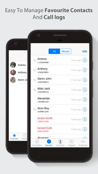 HD Phone 8 i Call Screen OS11 screenshot 14