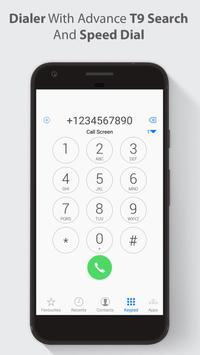 HD Phone 8 i Call Screen OS11 screenshot 3