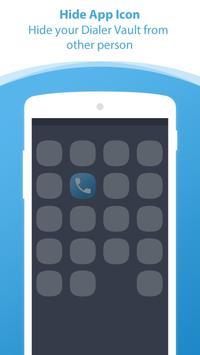 Dialer vault I Hide Photo Video App OS 11 phone 8 screenshot 4
