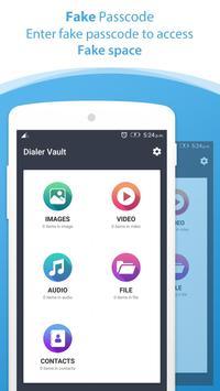 Dialer vault I Hide Photo Video App OS 11 phone 8 screenshot 5