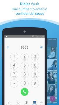 Dialer vault I Hide Photo Video App OS 11 phone 8 poster