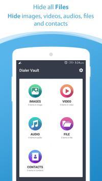 Dialer vault I Hide Photo Video App OS 11 phone 8 screenshot 2