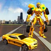 Robot Car Transformation Transport Simulator 2019 icon