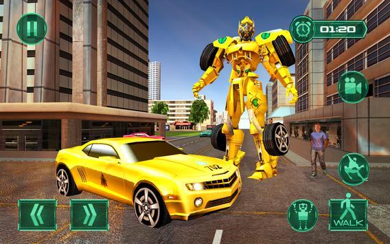 Robot Car Transformation Transport Simulator 2019 screenshot 4