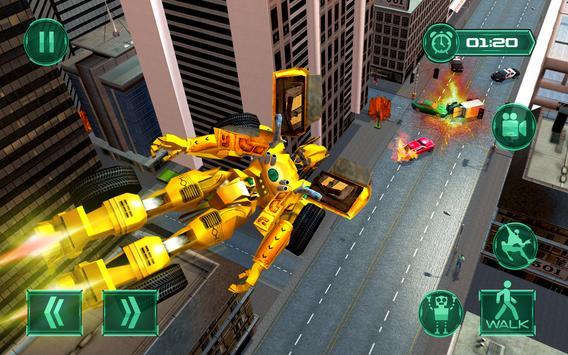 Robot Car Transformation Transport Simulator 2019 screenshot 2