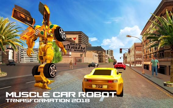 Robot Car Transformation Transport Simulator 2019 screenshot 3