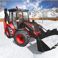 Snow Rescue Excavator - Survival Mission