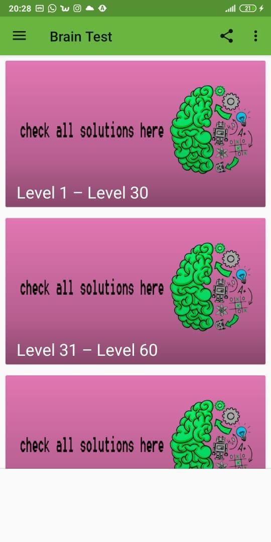 31 brain test