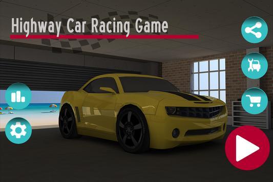 Highway Car Racing Game poster