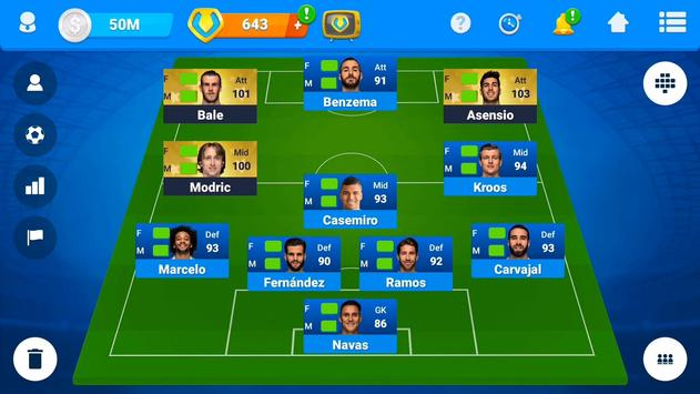 Online Soccer Manager (OSM) - Football Game 截圖 5