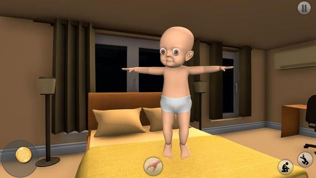 The Baby in Dark Yellow House: Scary Baby screenshot 5