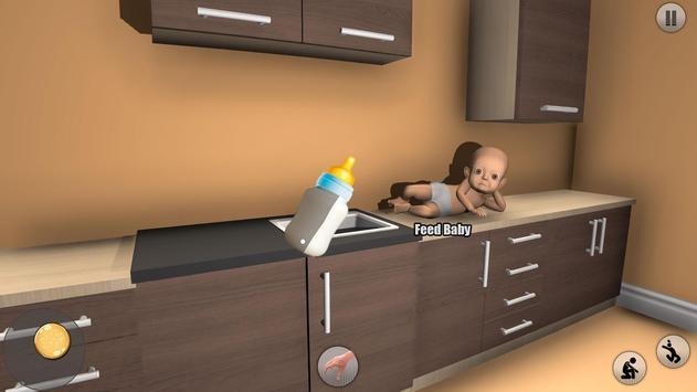The Baby in Dark Yellow House: Scary Baby screenshot 2