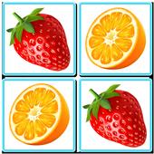 Louco Memória - Frutas ícone
