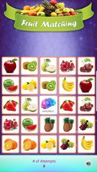 Louco Memória - Frutas imagem de tela 3