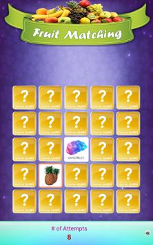 Louco Memória - Frutas imagem de tela 10