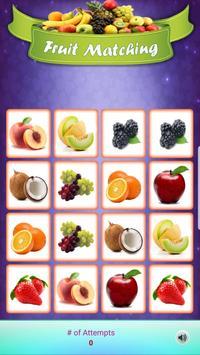 Louco Memória - Frutas imagem de tela 1