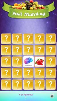 Louco Memória - Frutas imagem de tela 4
