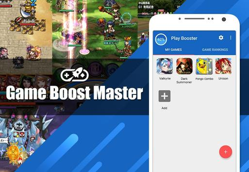 Game Boost Master|Free Memory Clear-Speed up- poster