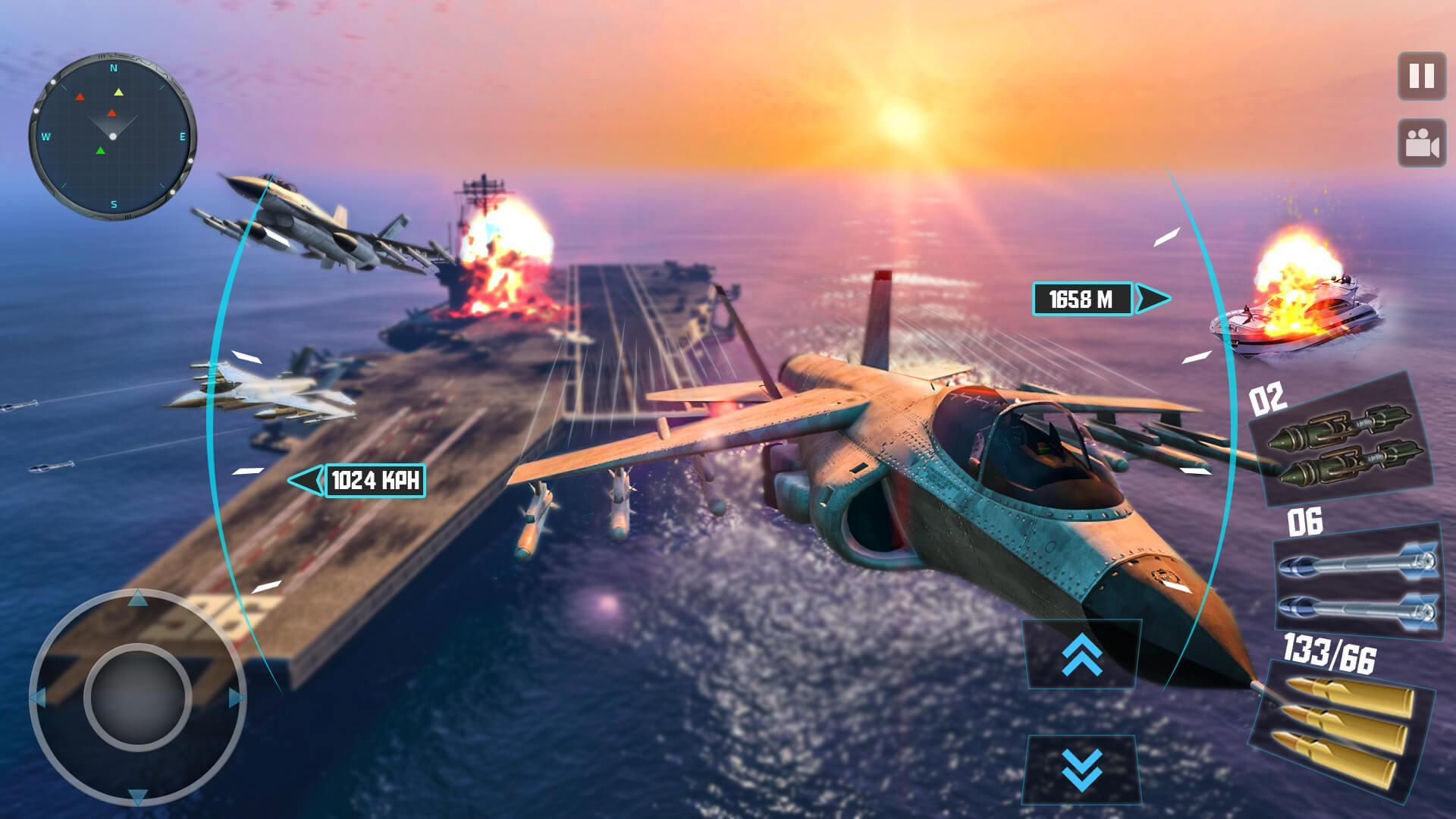 Sky Fighter Plane Gunship Aircraft Battle 2019 For Android