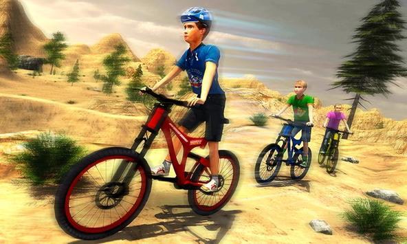 Mountain Climb Bicycle Rider screenshot 2