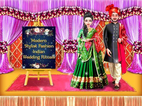 Modern Stylist Fashion Indian Wedding Rituals poster