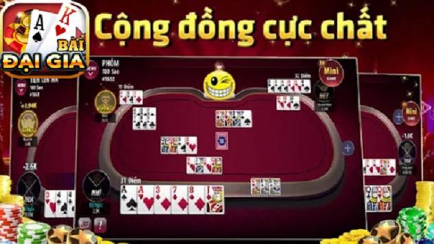 Game danh bai doi thuong - Đại Gia 2019 poster