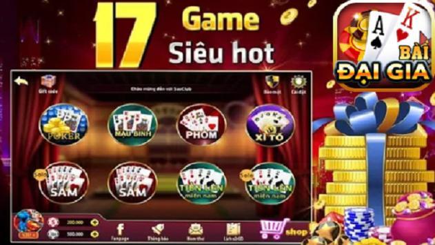 Game danh bai doi thuong - Đại Gia 2019 screenshot 1