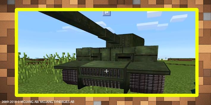 World War Tank mod for MCPE screenshot 1