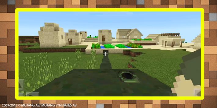 World War Tank mod for MCPE screenshot 2