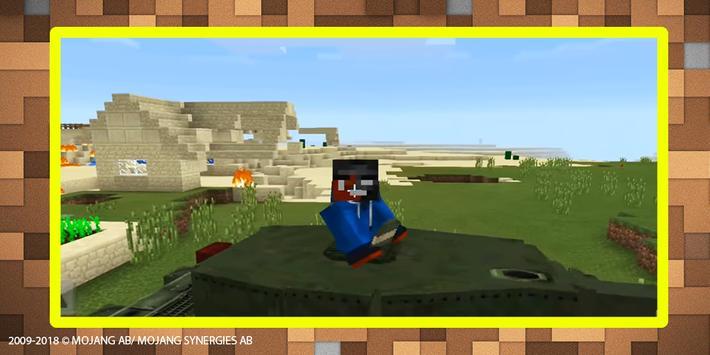 World War Tank mod for MCPE screenshot 4