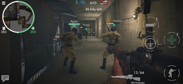 《世界大戰 - 英雄》:第一人稱二次大戰射擊遊戲! 截圖 5