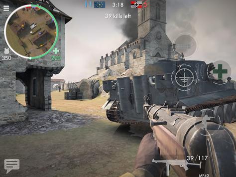 《世界大戰 - 英雄》:第一人稱二次大戰射擊遊戲! 截圖 17