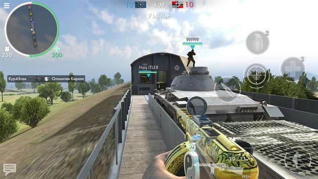 《世界大戰 - 英雄》:第一人稱二次大戰射擊遊戲! 截圖 10