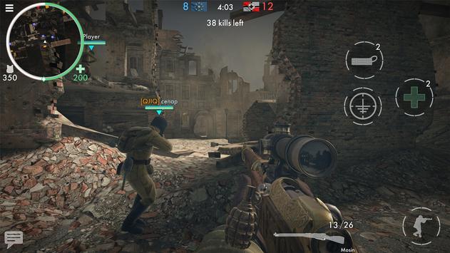 《世界大戰 - 英雄》:第一人稱二次大戰射擊遊戲! 截圖 15