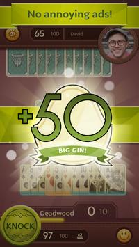 Grand Gin Rummy: The classic Gin Rummy Card Game скриншот 5