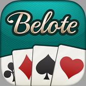 Belote.com - Jeu de cartes de Belote gratuit アイコン