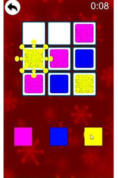 Sudoku Color Shapes Puzzle : Kids Free Game screenshot 1