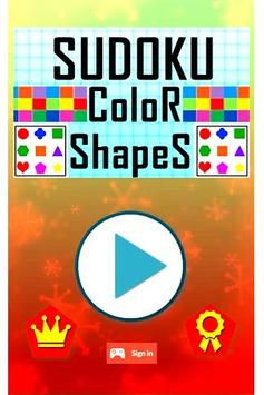 Sudoku Color Shapes Puzzle : Kids Free Game screenshot 4