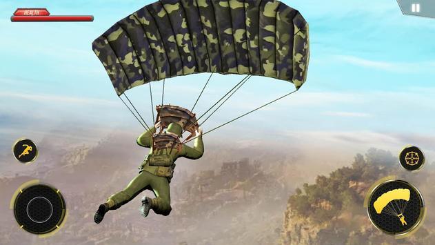 WW2 US Army Commando Survival Battleground الملصق