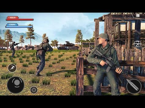 WW2 US Army Commando Survival Battleground تصوير الشاشة 15