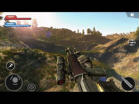 WW2 US Army Commando Survival Battleground تصوير الشاشة 10