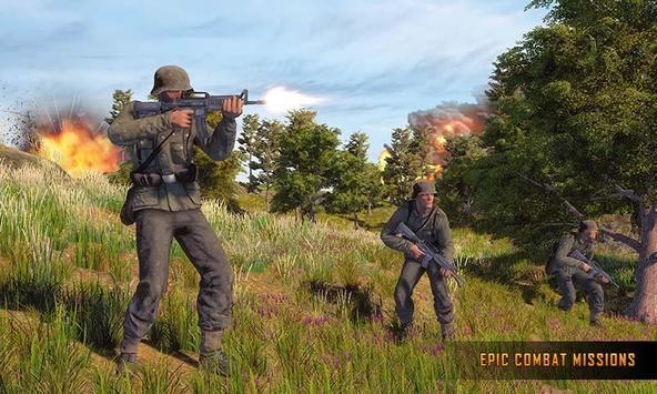 WW2 US Army Commando Survival Battleground screenshot 5
