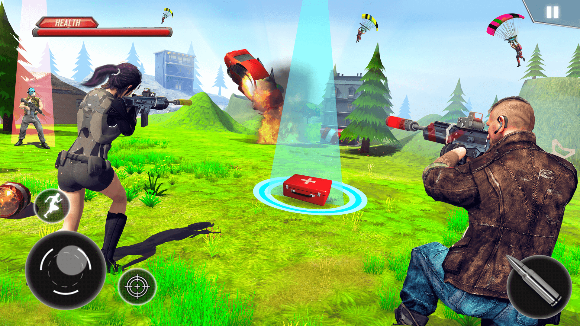 Firing Squad Fire Battleground Shooting Game for Android ... -