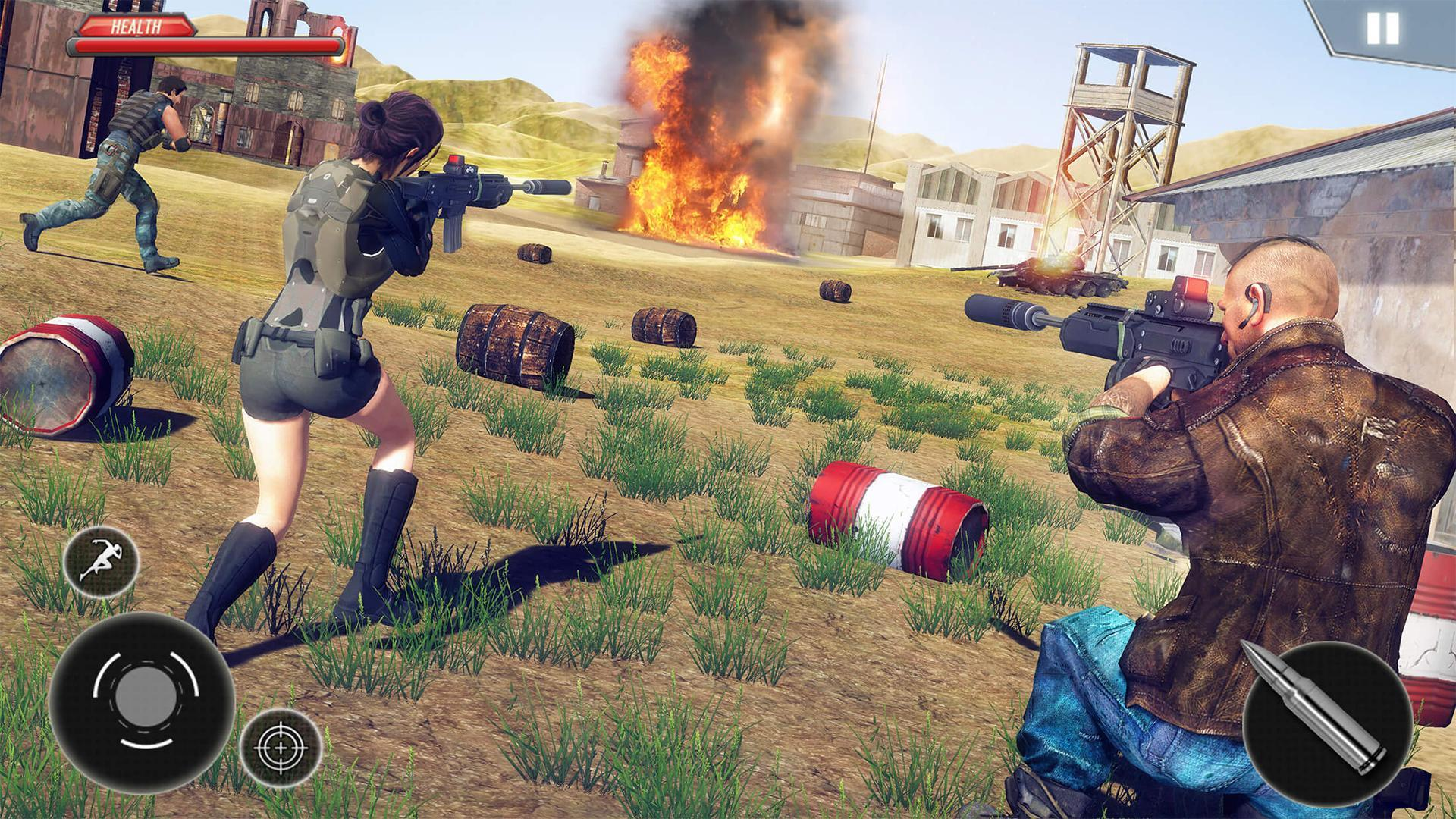 Firing Squad Fire Battleground Shooting Game for Android - APK Download