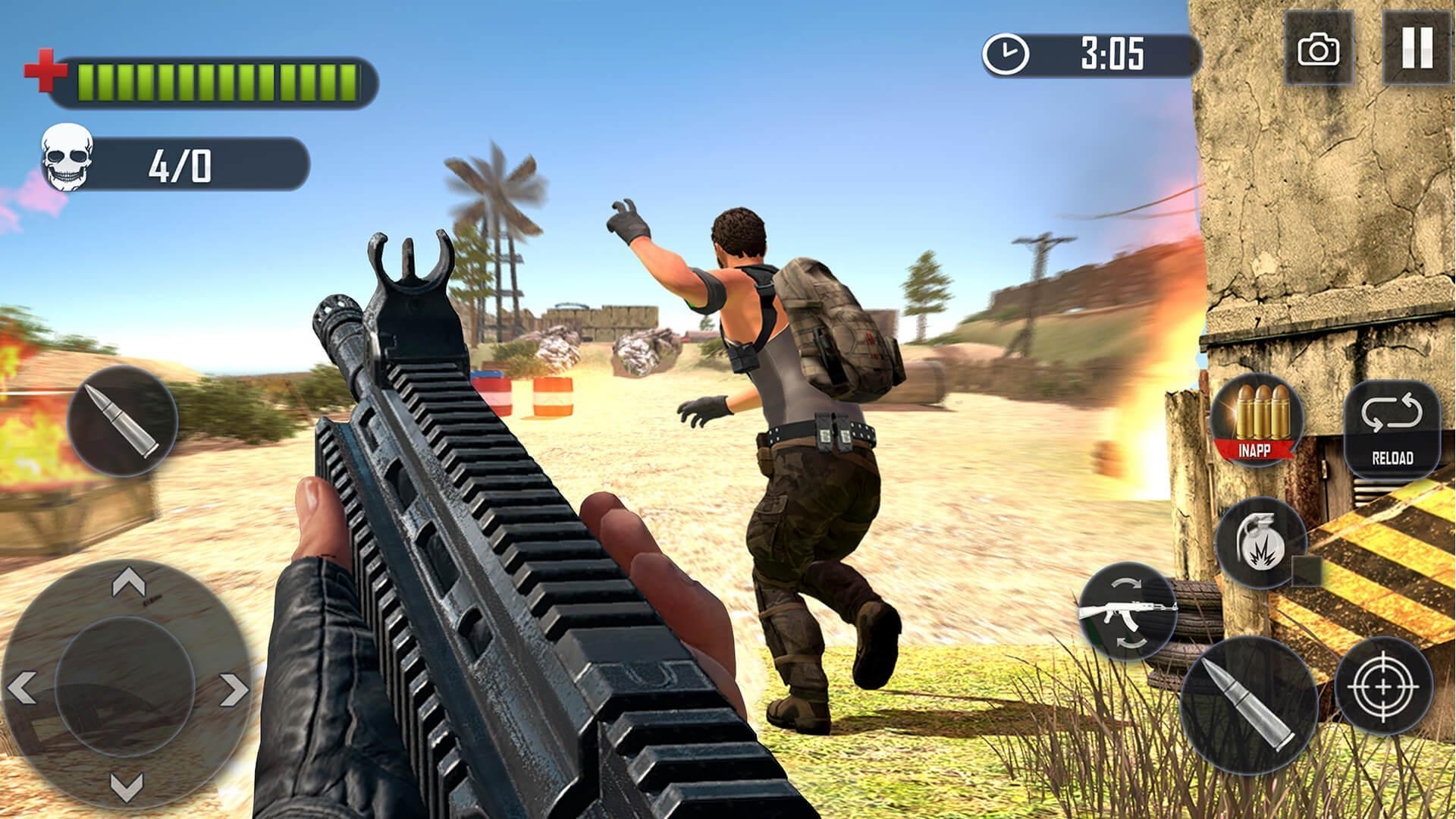 Battleground Fire : Free Shooting Games 2019 for Android ...