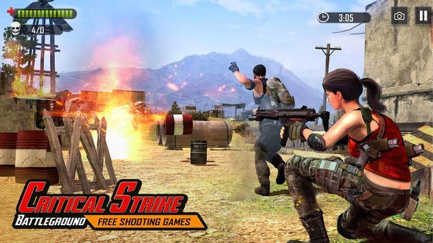 Battleground Fire : Free Shooting Games 2020 screenshot 17