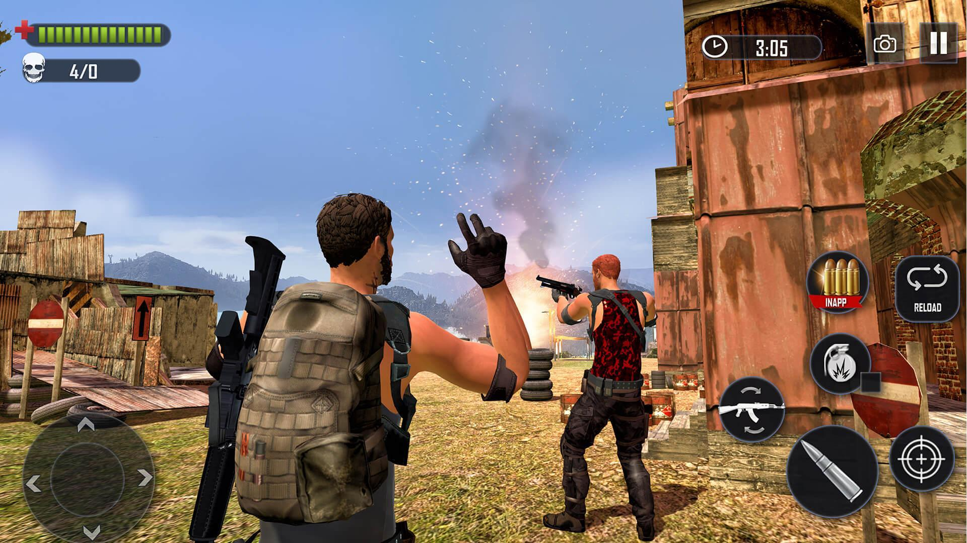 Battleground Fire Free Shooting Games 2020 For Android Apk